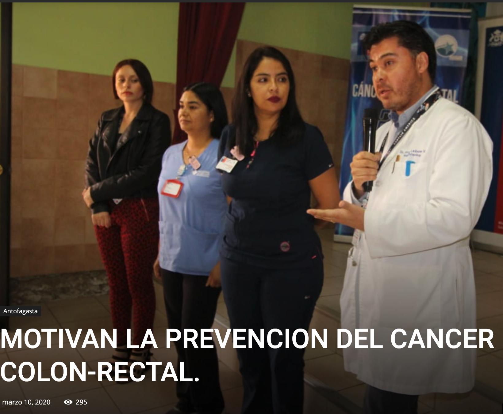MOTIVAN LA PREVENCION DEL CANCER COLON-RECTAL.